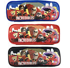 Disney Pixar Team Incredibles 2 Pencil Case Pouch Zippered b