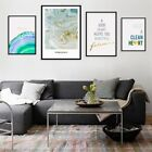 Green Agate Quote Abstract Modern Art Poster Print Wall Decor Canvas Painting