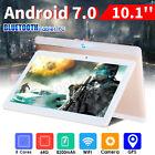 10.1'' Bluetooth 4G+64GB HD Android 7.0 Tablet Phablet 8 Core 4.0 WIFI 2 SIM GPS