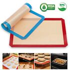Oven Baking Tray Non-Stick Rectangle Sheets Kitchen Tools Pan Mat Silicone