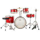 "12""/13""/16''/22"" 3/5 Piece Complete Adult/Junior Drum Set w/ Full Cymbals Kit"