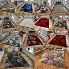 NEW 3D TEXTURED LARGE THICK SOFT PEBBLE DESIGN NOBLE HOUSE ACRYLIC RUGS BY THINK
