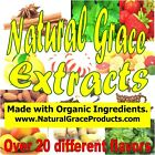 Natural Grace Pure Extract - Organic Ingredients - over 25 flavors Free Shipping