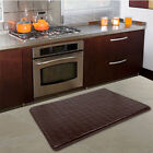 "18"" x 30"" Floor Mat Indoor Cushion Anti-Fatigue Comfort Memory Foam Kitchen Rug"