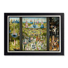 The Garden of Earthly Delights Hieronymus Bosch Glossy Poster 11x17 or 24x36in