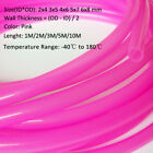 Pink HIGH TEMP Food Grade Silicone Tube Beer Brew Flexible Hose Pipe -Sizes&Lens