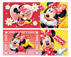 MINNIE MOUSE POLKA Kids Tableware Tablecover Invite Cards Child BIRTHDAY Party