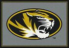 Missouri Tigers NCAA Team Spirit Indoor Area Rug