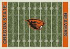 Oregon State Beavers NCAA Home Field Indoor Area Rug