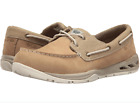 Columbia Mens 8 85 Boatdrainer Fly PFG Shoe British Tan Stone Ventilated Boat