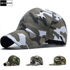 New Men Women Baseball Cap Snapback Hat Hip-Hop Adjustable Camo Caps