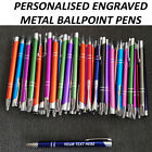 250/500 Personalised Engraved Metal Pens Wholesale Promotional Pen business card