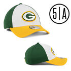 Green Bay Packers New Era Vintage Retro TRUCKER Mesh 39THIRTY Neo Flex Fit Hat on eBay