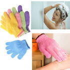 2Pair Bath Scrub Mitt Gloves Massage Scrubber Shower Wash Skin Spa Shower Tool
