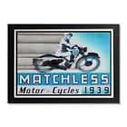 Matchless Motorcycles 1939 Advertisement Reproduction Glossy Poster