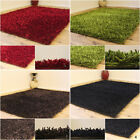 NEW SMALL MODERN 5CM THICK SHINY MULTI COLOR SHIMMER SHAGGY CLEARANCE RUG SALE