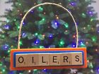 Edmonton Oilers Christmas Ornament Scrabble Tiles Magnet $8.99 USD on eBay
