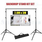 Photography Studio Heavy Duty Backdrop Stand Screen Background Support Stand Kit <br/> 5 Size❤Section Cross Bar❤Adjustable❤Bonus Bag❤Upgraded❤