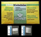**FREE DELIVERY** 1 To 6 PACKS OF 1000 (£1.84-£9.25) FINEST PRINZ STAMP HINGES