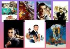 Sean Connery JAMES BOND 007 Thunderball etc  Textless Movie Posters A5 A4 A3 £2.99 GBP on eBay