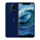 Nokia X5 Smartphone Android 8.1 Helio P60 Octa Core 5.86 Inch Screen GPS Face ID