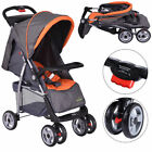 3 Colors Foldable Baby Kids Travel Stroller Newborn Infant Buggy Pushchair Child