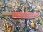 OLD HICKORY 7'' BUTCHER KNIFE  HANDMADE LEATHER SHEATH KNIFE NOT INCLUDED