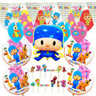 Pocoyo Birthday Party Balloon Supplies Decoration Cupcake Topper Cake Banner Xl
