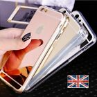 Trendy luxury Mirror Soft Silicone Gel Case Cover For Apple iPhone 10 etc