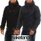 Naketano Herrenjacke Gingerbread Man Winter Jacke mit Kapuze Hoodie