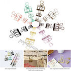 Used, Hollow Metal Binder Clips Steel Wire Craft Paper Hanging Photo Stationery Folder for sale  Shipping to United States