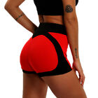 Women Compression Yoga Shorts Sports Gym Fitness Running Butt Lift Booty Pants