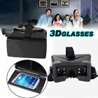 VR Headset Virtual Reality BOX Goggles 3D Glasses Cardboard F Smartphone Lot AS