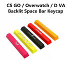 Overwatch D VA CS GO Backlit Space Bar Keycap 6.25X For MX Mechanical Keyboards $9.98  on eBay