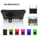 High Impact Cover Shockproof Protective Case with Stand for iPad Mini 4 Kid Gift