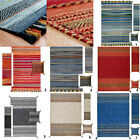 MODERN NEW HAND WOVEN KELIM BEST QUALITY RUG RUGS MATCHING RUNNERS & CUSION