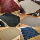 CHECKED FLATWEAVE BEST PRICE RUG NEW MODERN ANTI-SLIP QUALITY CONTEMPORARY RUGS