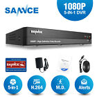 SANNCE 16CH- 8CH- 4CH Full 1080P DVR HD Video Recorder for Home Security System
