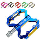 Bike Pedals Mountain Road Bicycle Flat Platform MTB Cycling Aluminum Alloy 1Pair