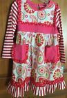 Three Sisters 2 pc outfit Pink and Red sz12mos,18mos,24mos,3,4,5,6,6x,7