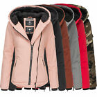 Navahoo Damen Winter Jacke Goldengel warm gefüttert Mantel Teddy Parka 80049