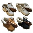 NEW Ladies Fur lined Winter Ankle BOOTS UK Seller