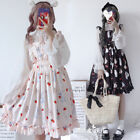 Harajuku Girl Japanese Cute Rabbit Print Princess Lolita JSK Sleeveless Dress