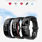 P3 ECG+PPG Smart Watch Blood Pressure Pedometer Heart Rate Monitor GPS Wristband