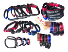 Albcorp Reflective Service Dog Collar Handle,  Woven Nylon/Neoprene Padding