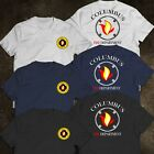 New Columbus Ohio Fire Department Division Of Fire Fighter Rare Firearm T-Shirt