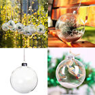 Внешний вид - 10PCS Clear Plastic Ball Ornament Xmas Party Hanging Decoration Gift 6/8/10cm