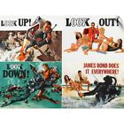 Wall Decal entitled Thunderball - Vintage Movie Poster $41.99 USD on eBay