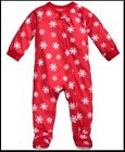 Family Pajamas 1-Pc Moose-Print Footed Pajama moose print Red