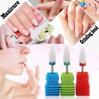 Bullet Rotary Cutter Machine Electric Manicure Art Ceramic Nail Drill Bit File